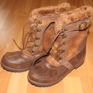 Rock & Candy Sz 8 DANLEA Round Toe Mid Calf Boots